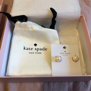 Kate Spade Pearl Gumdrop Studs